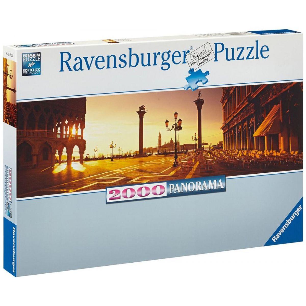 Ravensburger Puzzle Saint Mark náměstí v Benátkách 2000 dílků