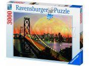 Ravensburger Puzzle San Francisco v noci 3000 dílků