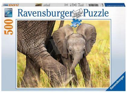 Ravensburger Puzzle Slůně 500 dílků