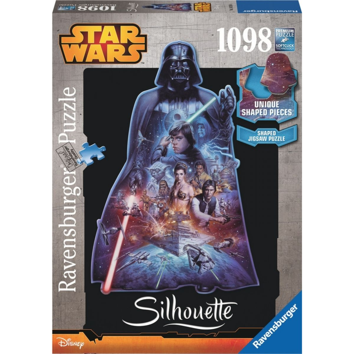 Ravensburger Puzzle Star Wars Darth Wader 1098 dílků