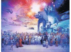 Ravensburger Puzzle Star Wars Universe 2000 dílků - Poškozený obal