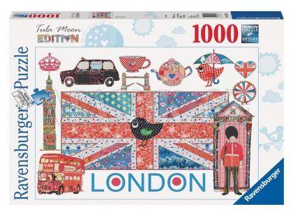 Ravensburger Puzzle Tula Moon Londýn 1000 dílků
