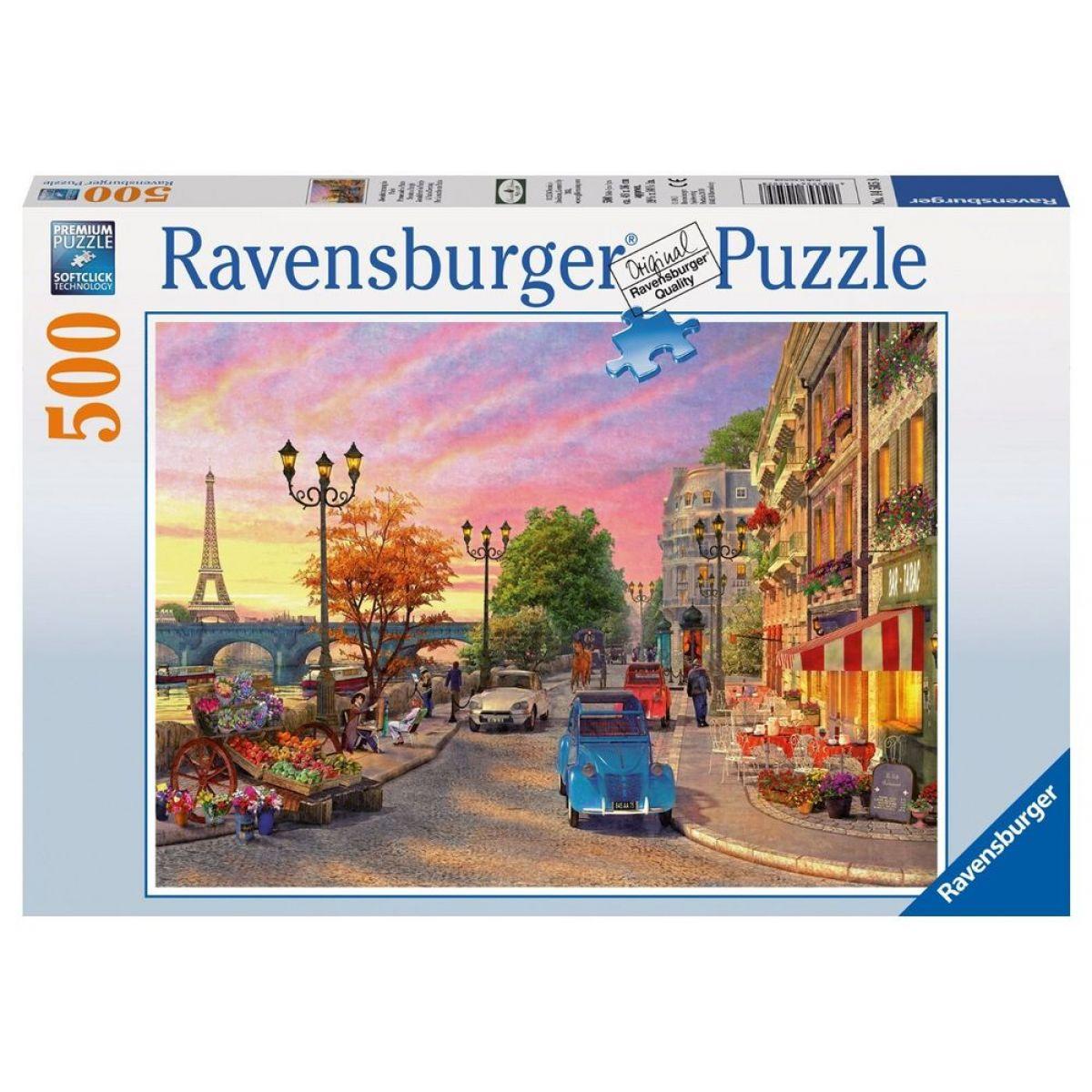 Ravensburger Puzzle Večer v Paříži  500 dílků