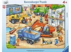 Ravensburger puzzle Velká konstrukční vozidla 40 dílků