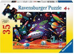 Ravensburger Puzzle Vesmírný prostor 35 dílků