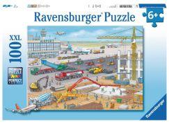 Ravensburger Puzzle XXL 106240 Stavba na letišti 100 dílků