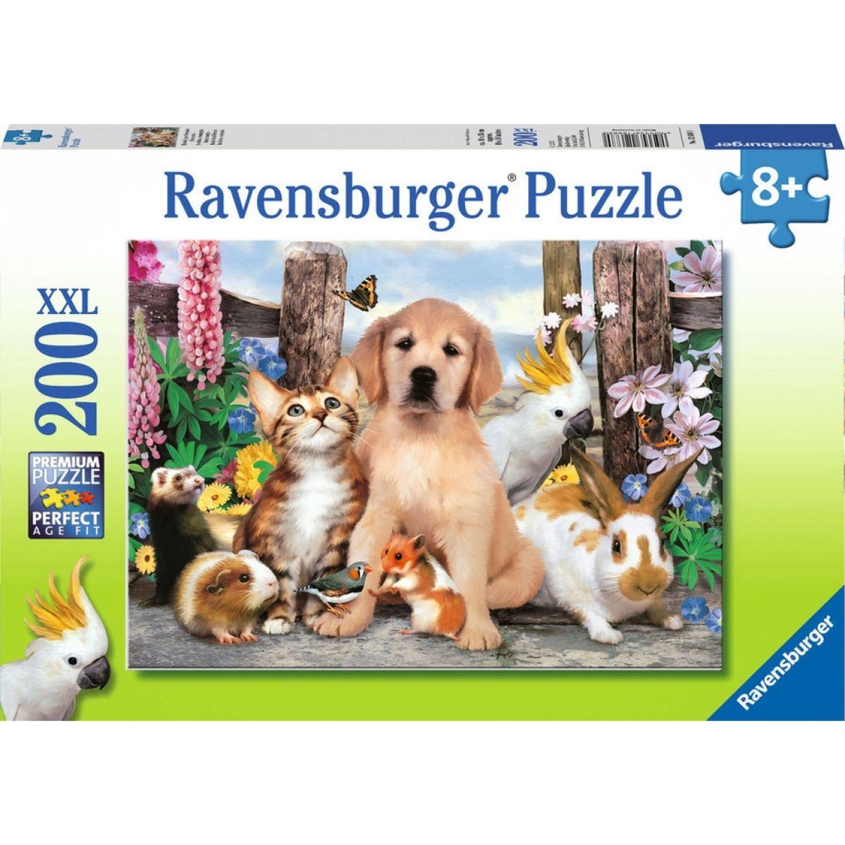 Ravensburger Puzzle XXL Úžasní přátelé 200 dílků