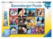 Ravensburger Puzzle XXL Kočičí koláž 300 dílků