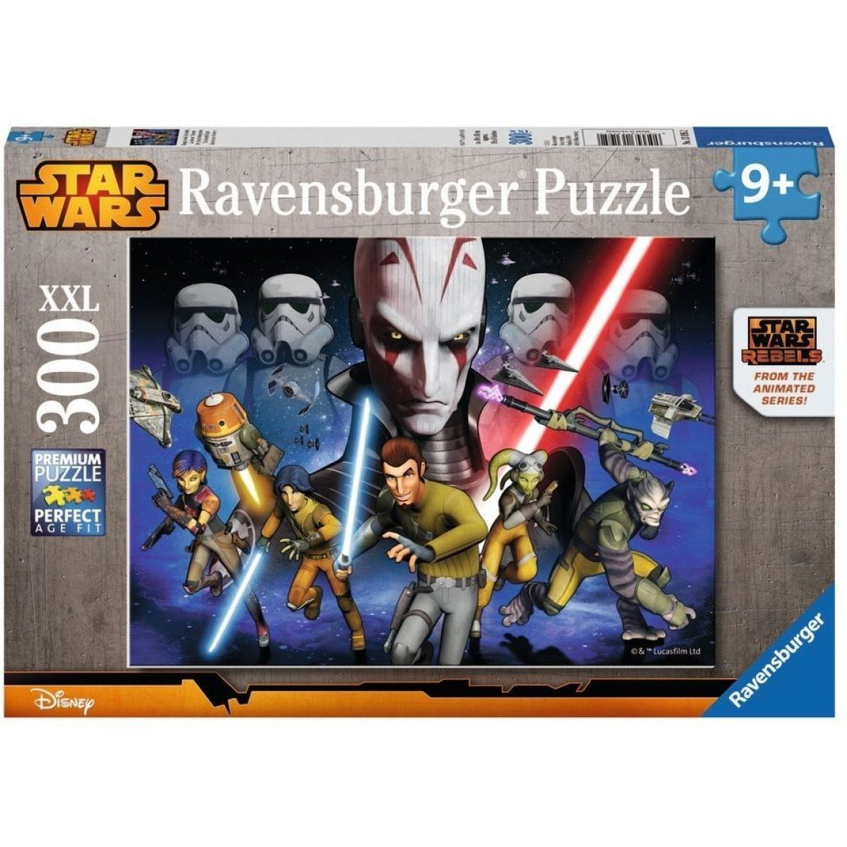 Ravensburger Puzzle XXL Star Wars Rebels 300 dílků