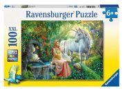 Ravensburger Puzzle XXL V oblasti jednorožce 100 dílků