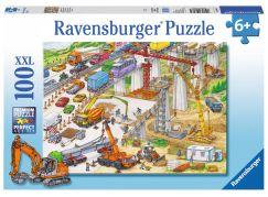 Ravensburger Puzzle XXL Veliké staveniště 100 dílků