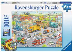 Ravensburger Puzzle XXL Vozidla ve městě 100 dílků