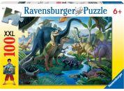 Ravensburger Puzzle XXL Země obrů 100 dílků