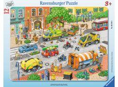 Ravensburger Puzzle Život ve městě 12 dílků