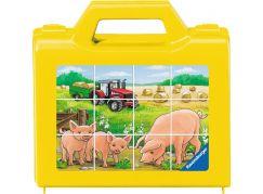 Ravensburger puzzle Zvířata na statku 12 dílků