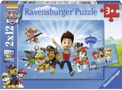 Ravensburger Ryder a Tlapkova Patrola Puzzle 2x12 dílků