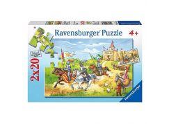 Ravensburger Rytíři 2 x 20 dílků