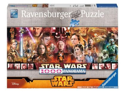 Ravensburger Star Wars Puzzle Panorama Legends 1000 dílků