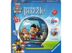 Ravensburger Tlapková Patrola puzzleball 72 dílků
