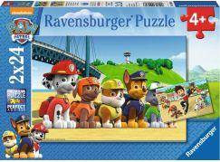 Ravensburger Tlapková Patrola: Stateční psi 2 x 24 dílků