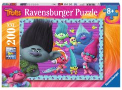 Ravensburger Trollové Puzzle XXL Princezna Poppy a její přátelé 200 dílků