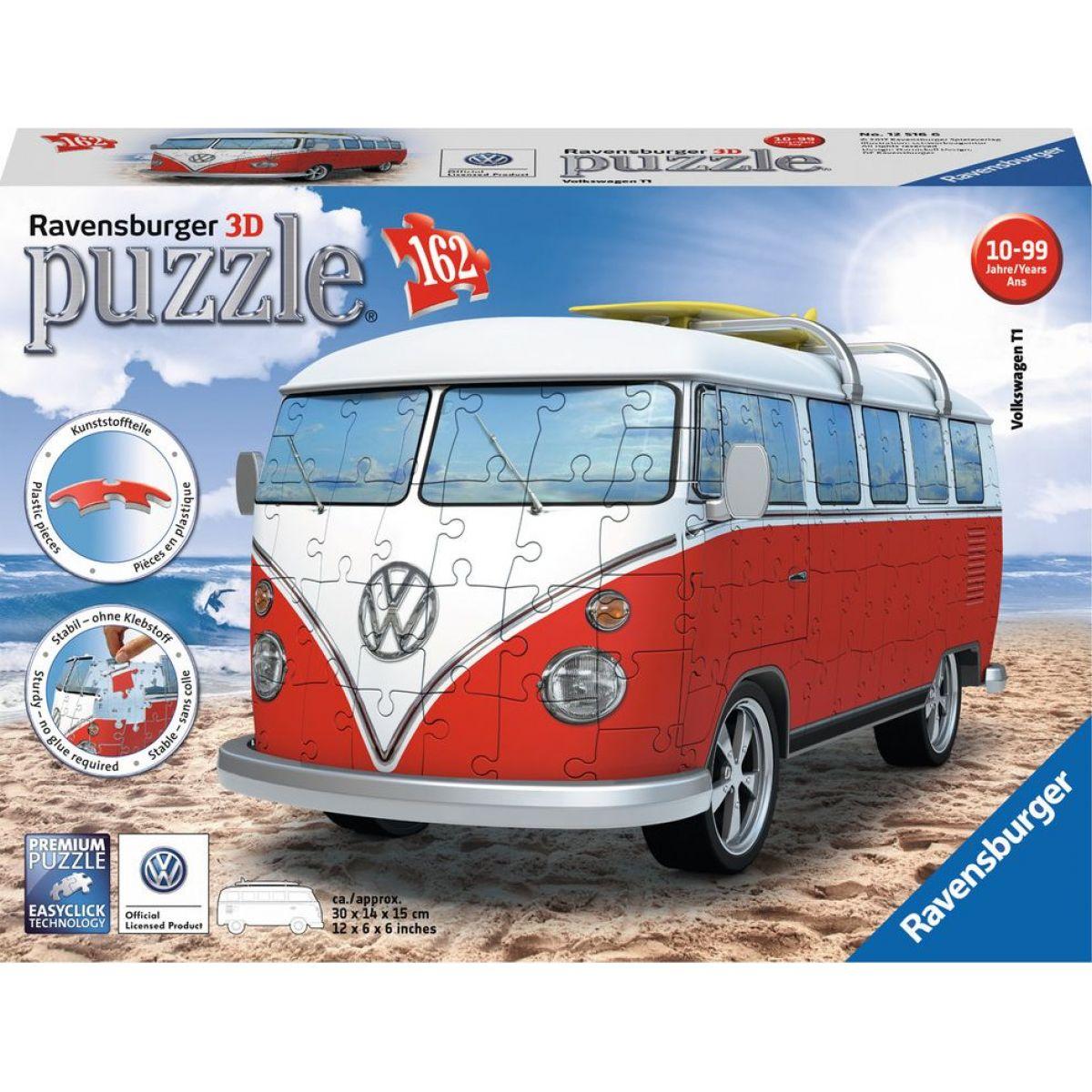 Ravensburger VW autobus 3D puzzle 162 dílků