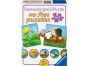 Ravensburger Zvířata na zahradě 9x2 dílků