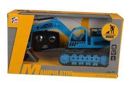 RC Bagr Manipulator Modrý