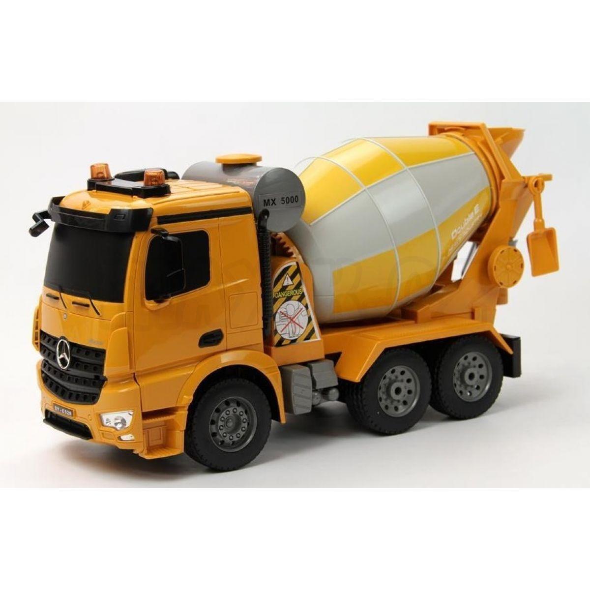 Rc mercedes benz arocs cement mixer 1 20 max kovy hra ky for Rc mercedes benz