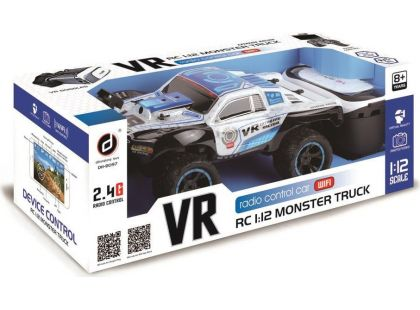 RC Monster truck s VR brýlemi 1:12