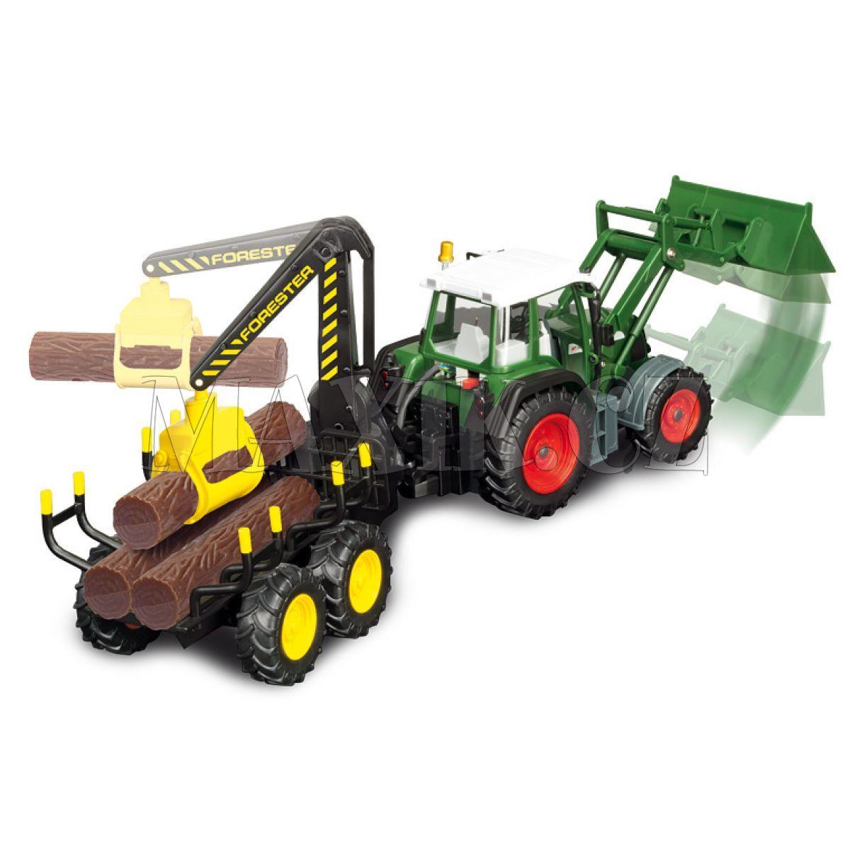 Rc traktor forester cm dickie maxíkovy hračky