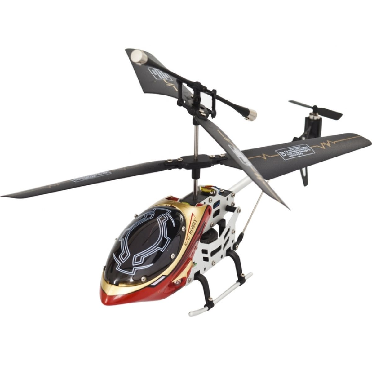 RC Vrtulník FALCON 19cm - II.jakost