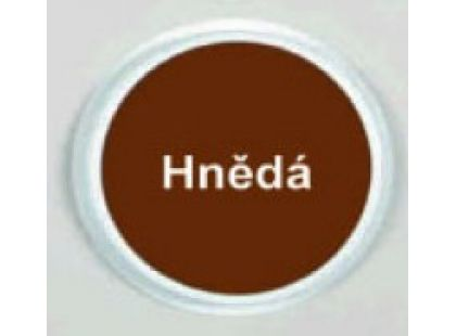 Ready2Learn Kruhový polštářek Hnědá