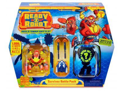 Ready2robot Build, Swap, Battle červený Hard Ware
