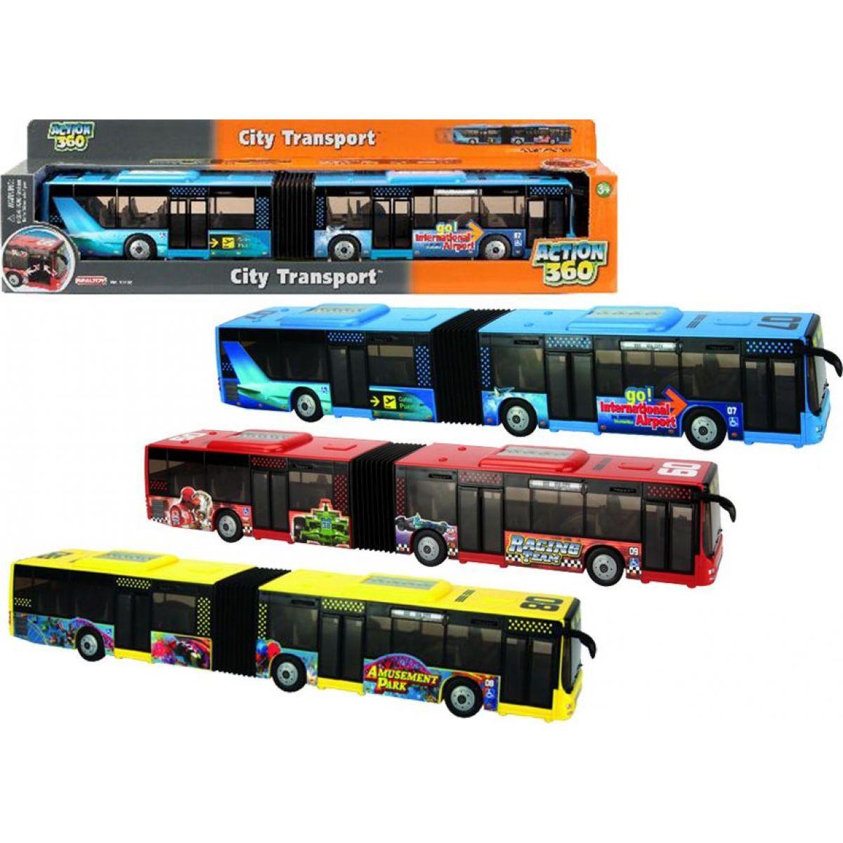 Realtoy Autobus kloubový 42cm