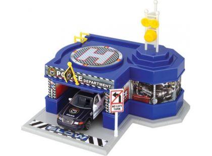 Realtoy Policejní stanice s autíčkem