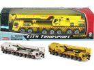 Realtoy Stavební vůz - jeřáb - Žlutý
