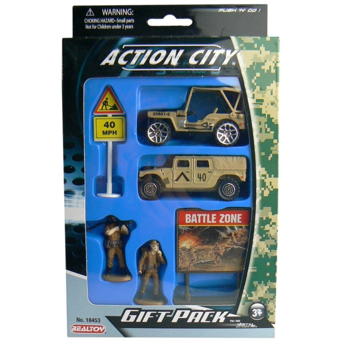 Realtoy Vojenská technika - Jeep