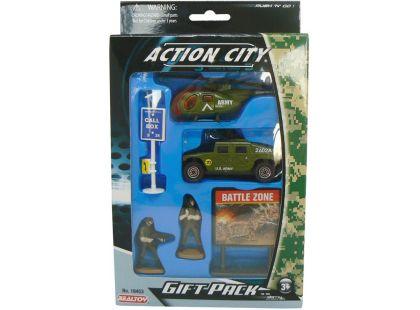 Realtoy Vojenská technika - Zelený vrtulník