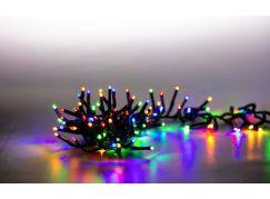 Řetěz světelný 400 LED dvojitý 4 m barevná