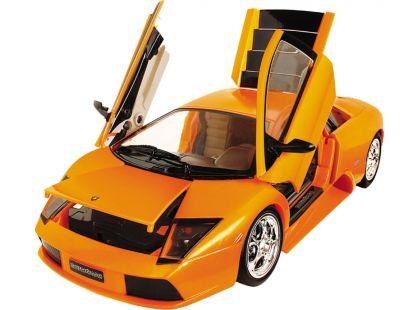 Road Bot Lamborghini Murcielago 1:18,zvuk+světlo - Oranžová