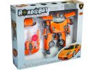 Road Bot Lamborghini Murcielago 1:18,zvuk+světlo - Oranžová 5