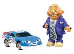 Roary kovové autíčko Tin Top a figurka pana Karburátora
