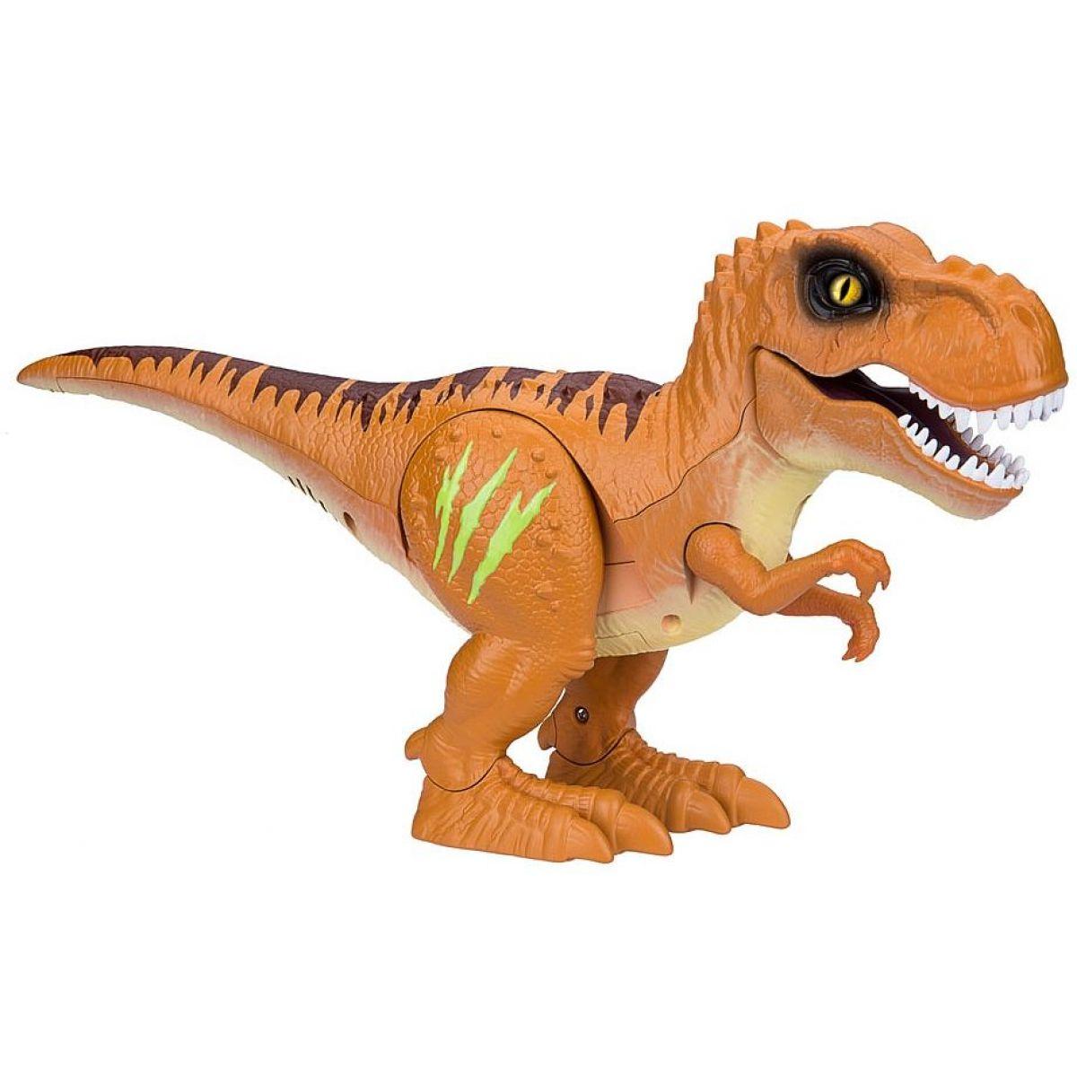 Robo Alive dinosaurus oranžový