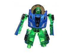 Robocarz 2 v 1 1:64 8 B tm. modrý-zelený