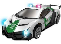 Robocarz 2 v 1 Policejní, záchranářské auto 1:32 2 A policejní