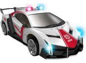 Robocarz 2 v 1 Policejní, záchranářské auto 1:32 2 A záchranářské