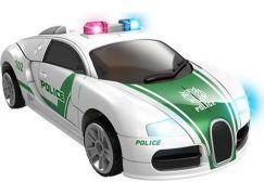 Robocarz 2 v 1 Policejní, záchranářské auto 1:32 2 B policie