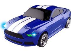 Robocarz 2 v 1 Sportovní auto 1:32 2 D modro-oranžové