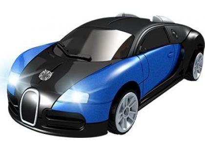Robocarz 2 v 1 Závodní auto 1:32 2 A černo-modré